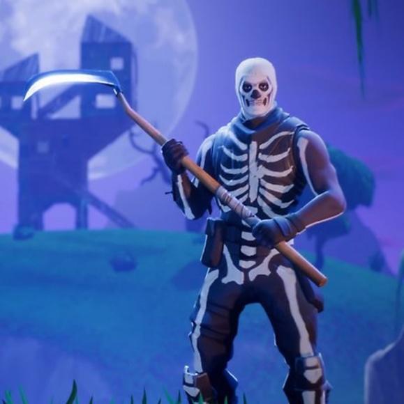 Other Fortnite Skull Trooper And Reaper Axe Poshmark